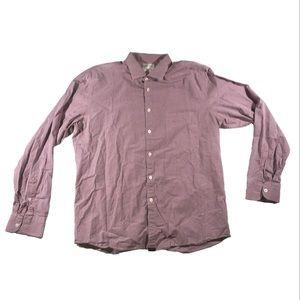 Billy Reid plaid button up shirt
